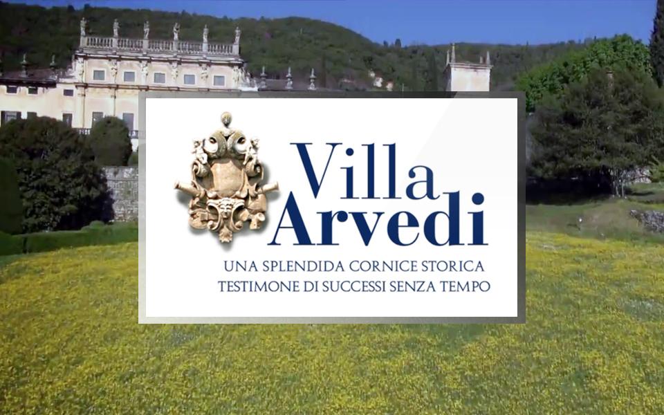 Videoclip per Villa Arvedi con riprese aeree